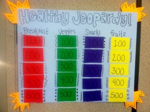 Introducing Healthy Jeopardy A Fun New Game That Teaches