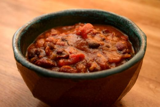 March 2012: Vegetable Chili with Bell Peppers and Beans : Nurture